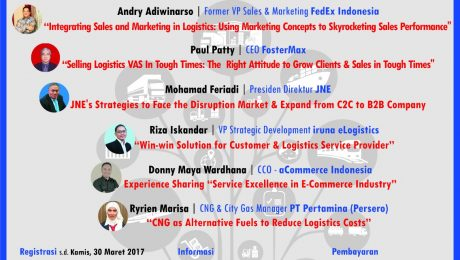 Seminar On Logistics Supply Chain Winning The Sales In Market Uncertainties Disruptions Supply Chain Indonesia